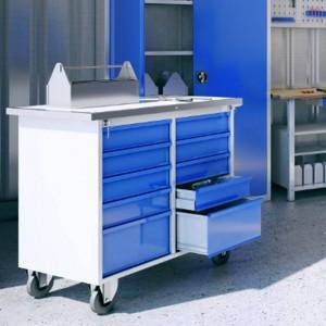 Шкафы для инструментов с ящиками